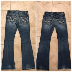 BIG STAR SWEET ULTRA LOW JEANS SIZE 26